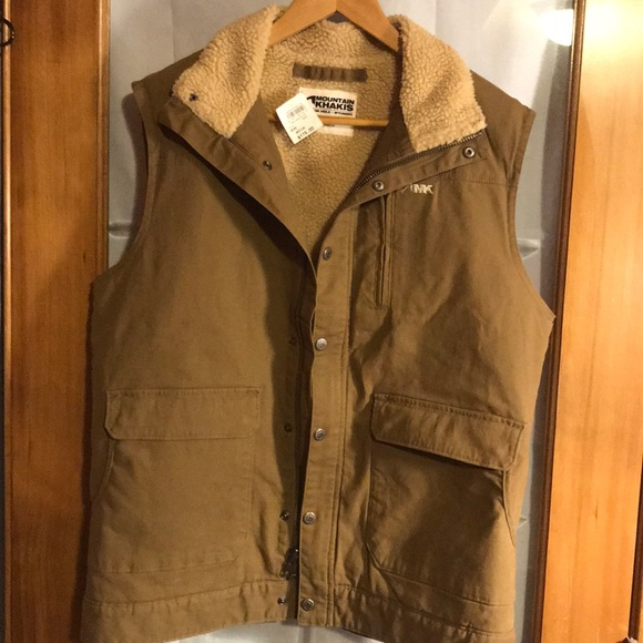 Mountain Khakis Other - NWT MOUNTAIN KHAKIS  RANCH SHEARLING VEST